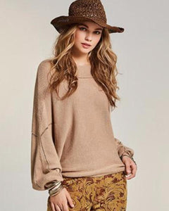 Beautiful Detail Batwing Sweater