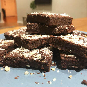 Super Fudgy Chocolate Brownies  I  Gluten free, keto & paleo