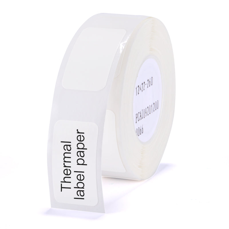 NIIMBOT- D11 - THERMAL LABELS - 12X22MM - 260 LABELS PER ROLL