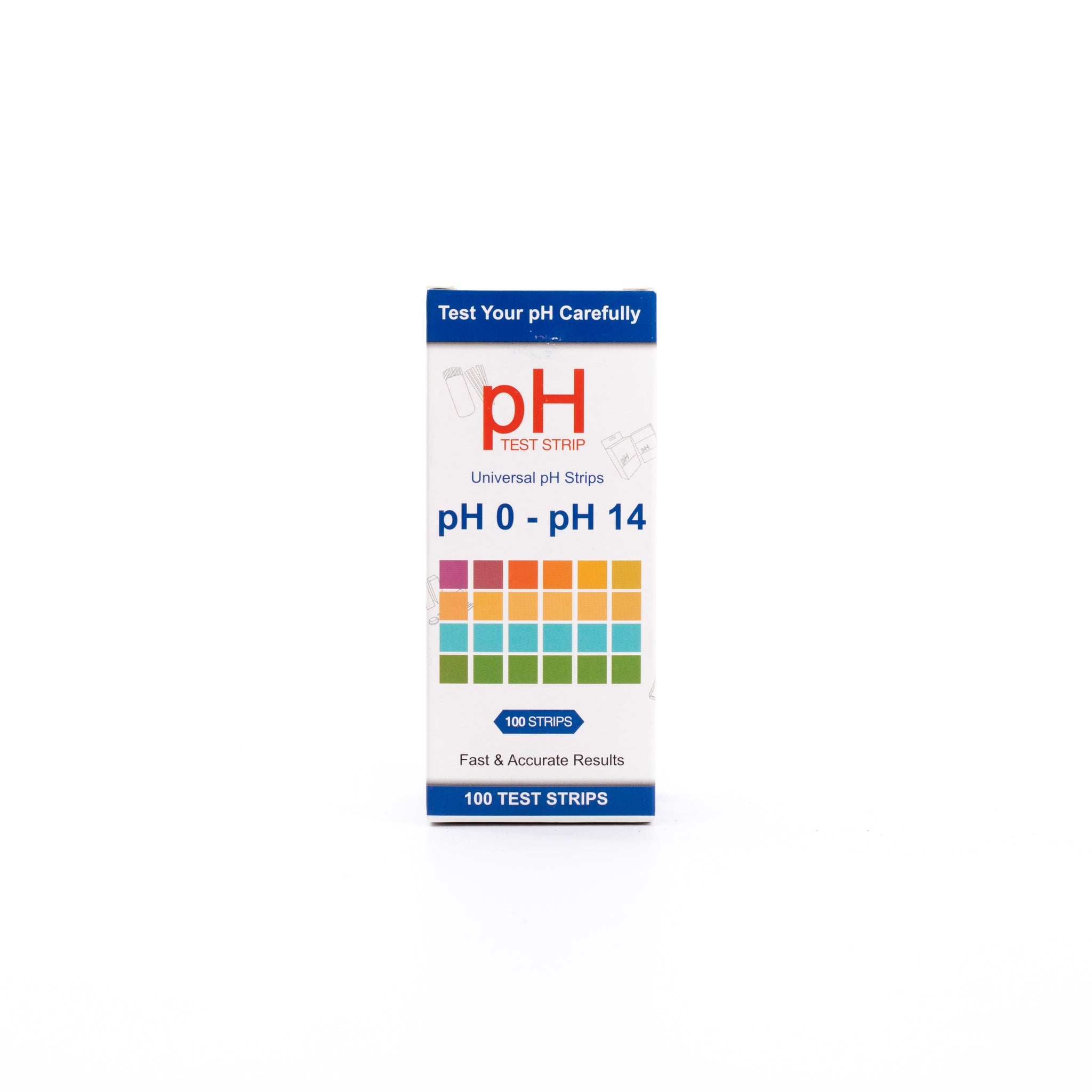 URS - pH 0 to pH 14 - URINE/SALIVA/WATER TEST - 100 STRIPS