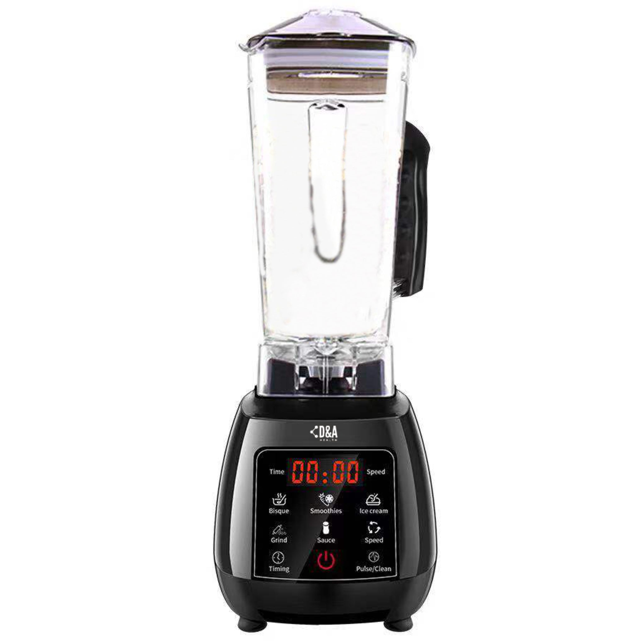 D&A HEALTH - ULTIMATE TOUCHPAD BLENDER - 2,200W & 2,000ML JUG