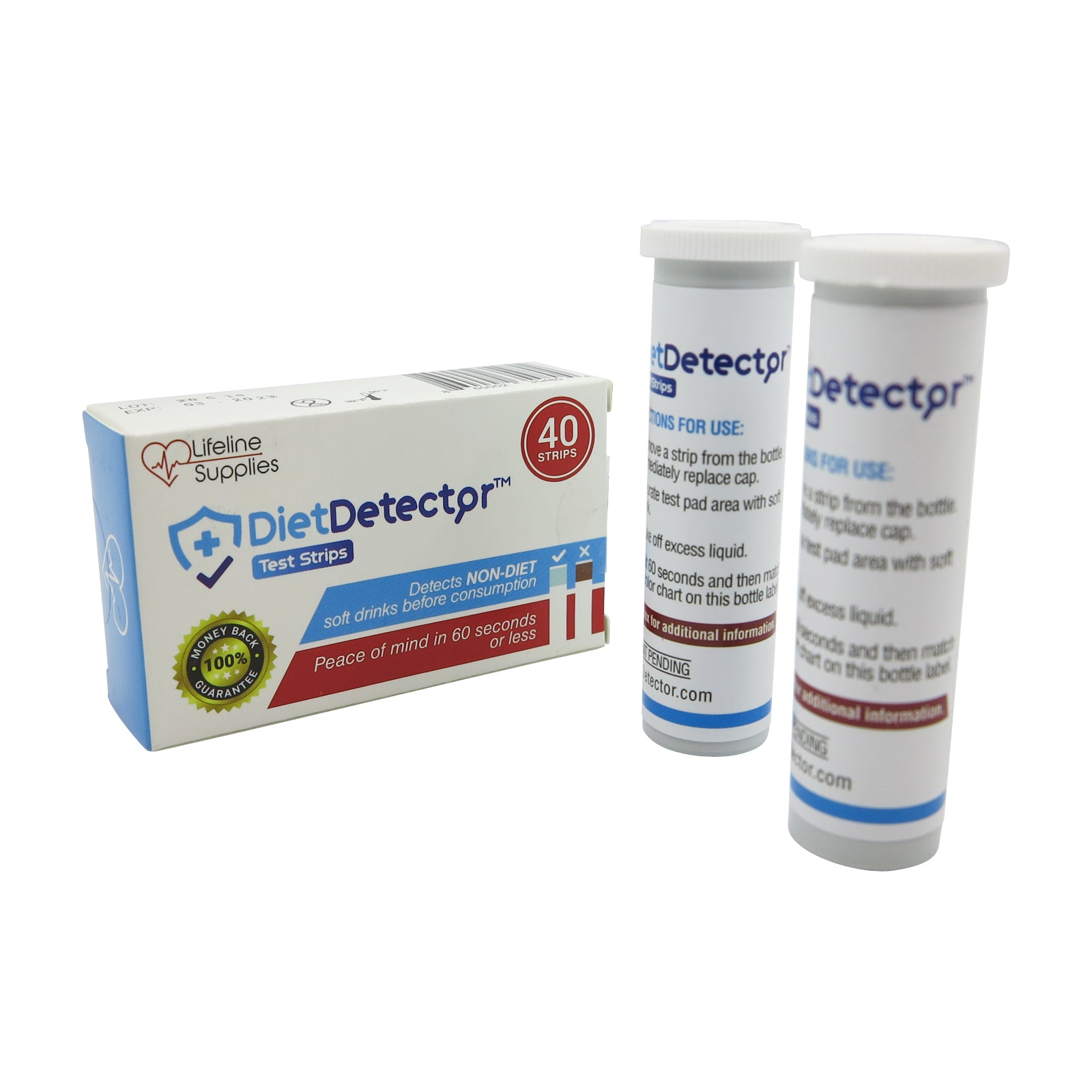 DIET DOCTOR - NON-DIET SOFT DRINK TEST STRIPS (40)