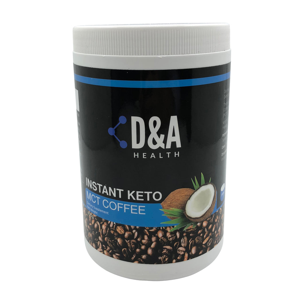 D&A HEALTH - INSTANT KETO MCT COFFEE (400G)