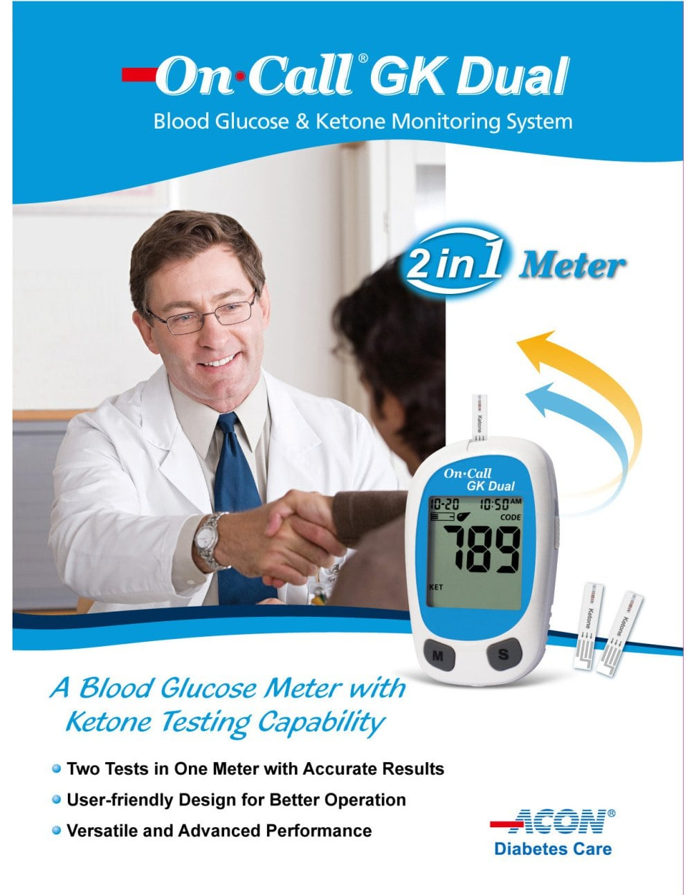 ON CALL® BLOOD KETONE METER START UP KIT