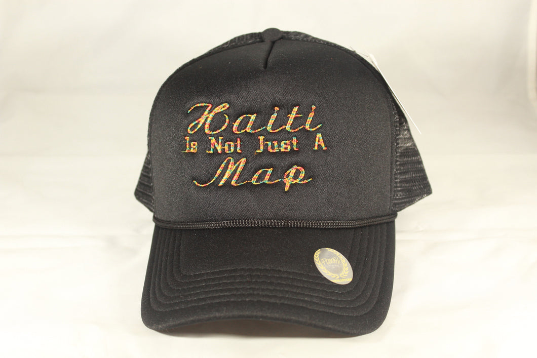HAITI IS NOT JUST A MAP HAT