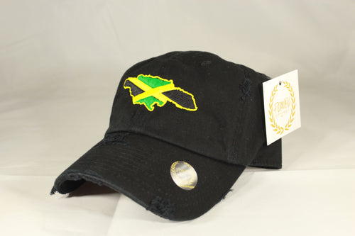 JAMAICA MAP HAT