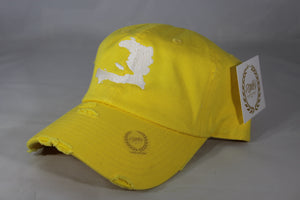 HAITI MAP HAT