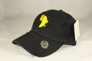 AFRICA MAP HAT