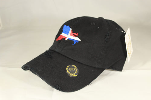 DOMINICAN REPUBLIC MAP HAT