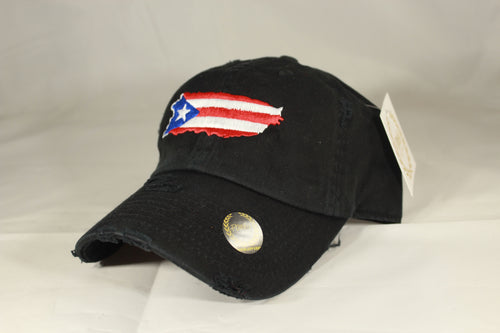 PUERTO RICO MAP HAT