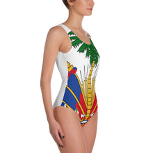 Haiti Coats Of Arms One-Piece Swimsuit