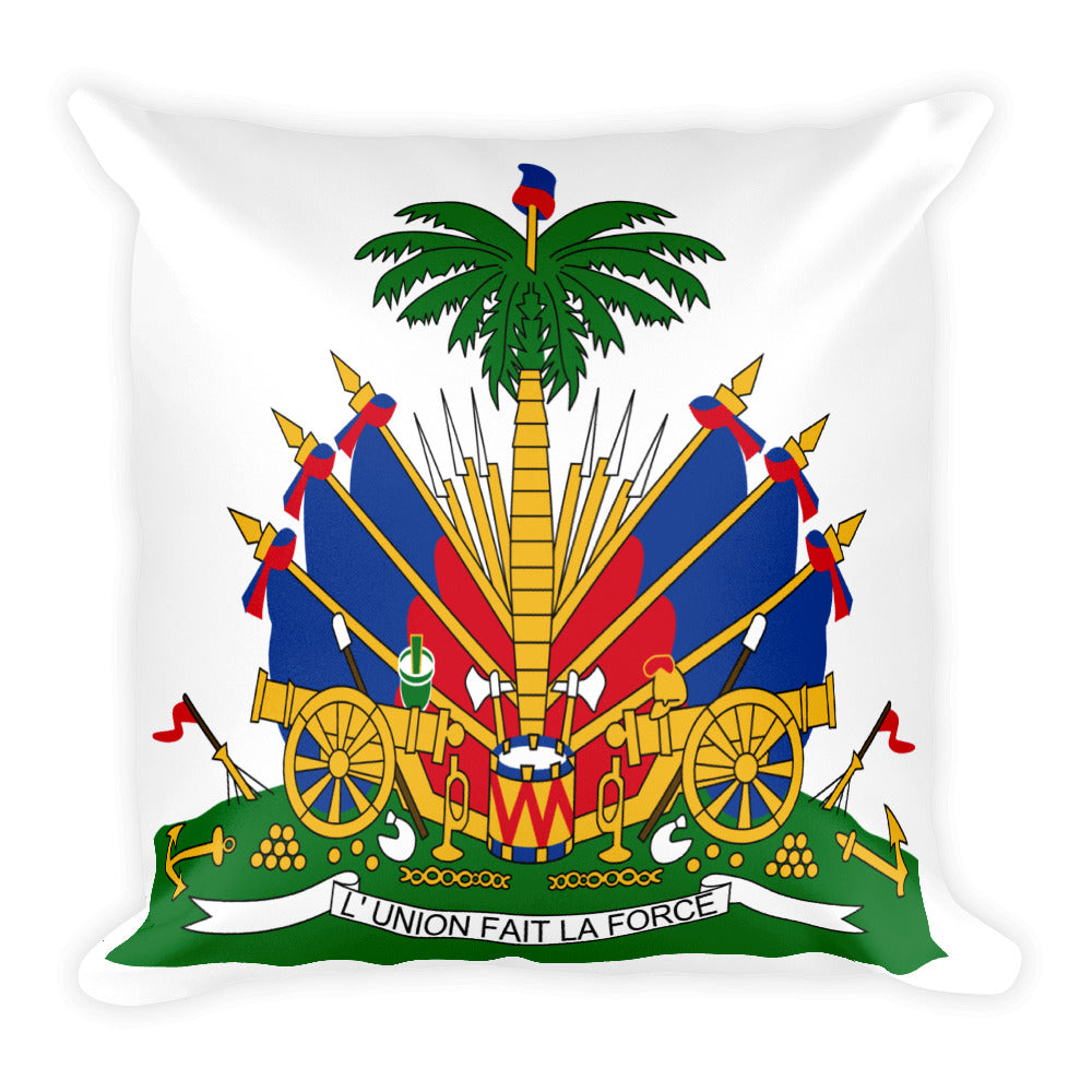 HAITI Coats Of Arms Pillow