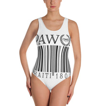 Barcode One-Piece Swimsuit