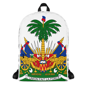 Haiti Coats Of Arms Backpack