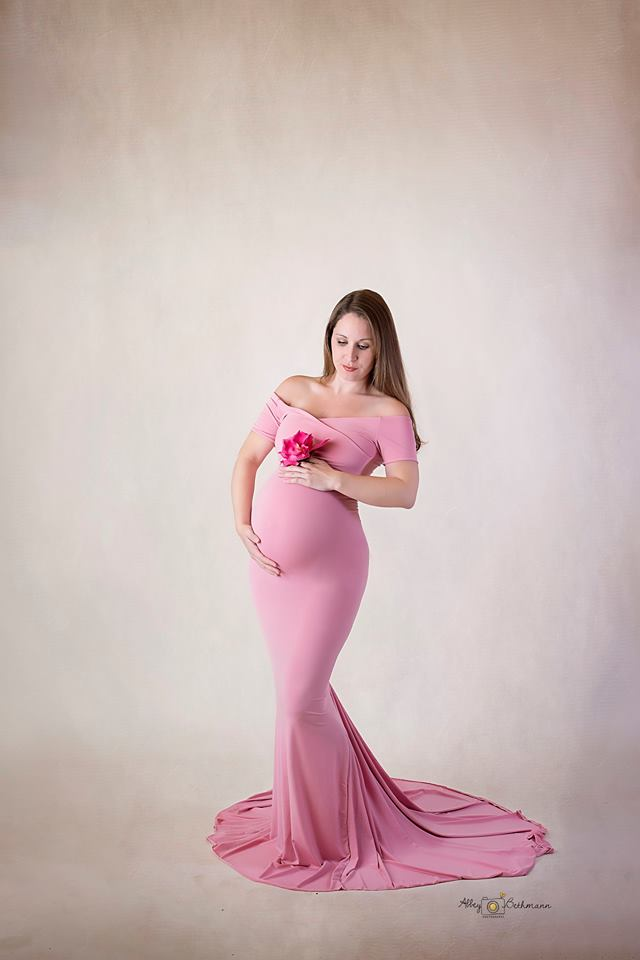 5ed588601e691 Sarah Gown-fitted maternity gown-maternity gown – Hope Designs and ...