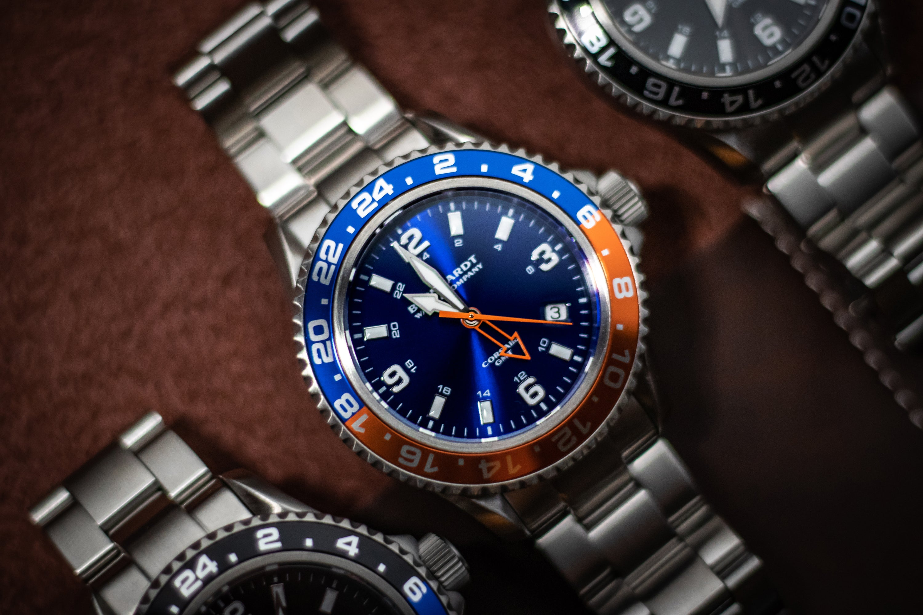GMT & DUAL TIME WATCHES