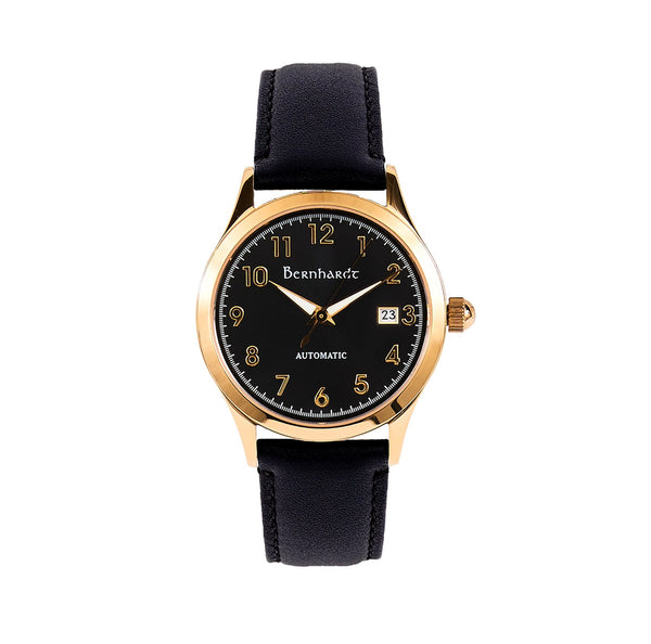 Captain's Watch - Black/Gold