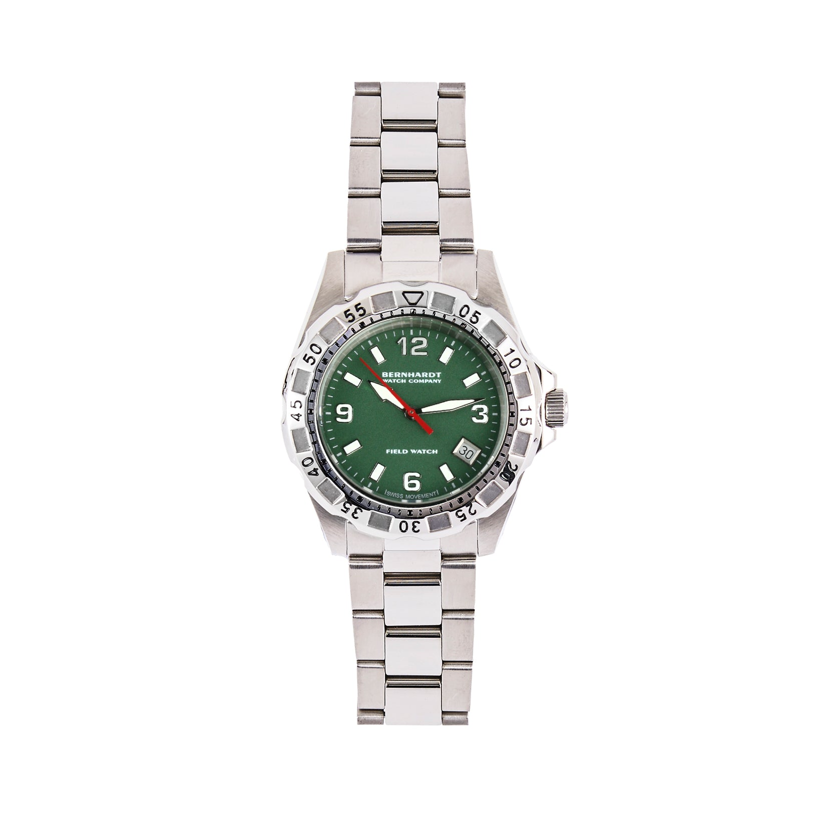 Women's Diver - Green/Steel