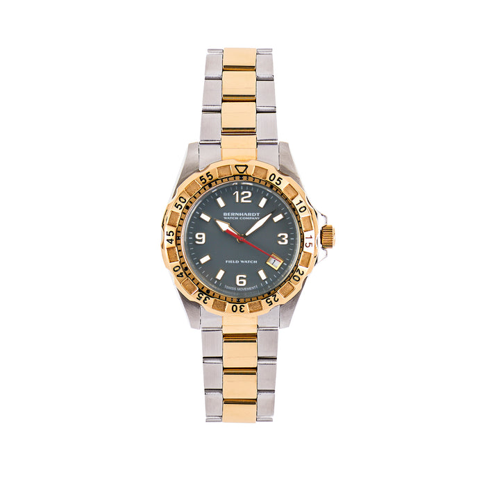 Women's Diver - Gray/Gold
