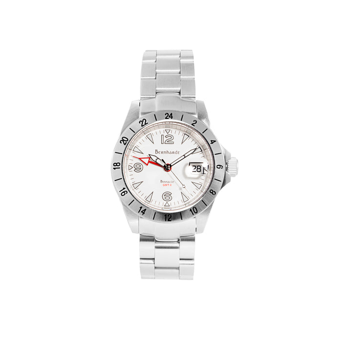 Binnacle GMT II - White