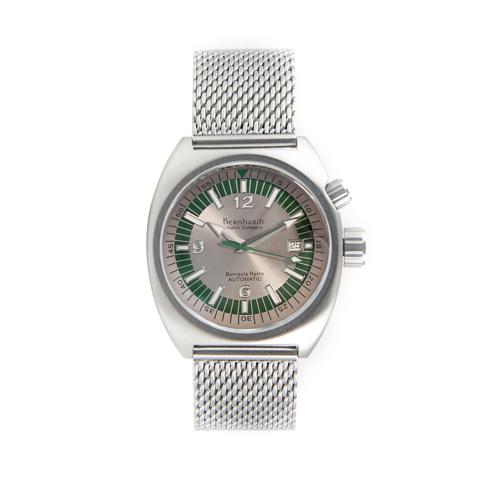Binnacle Retro - Platinum/Green