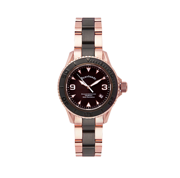 Binnacle Submersion - Black/Rose Gold