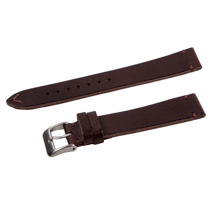 brown vintage leather strap