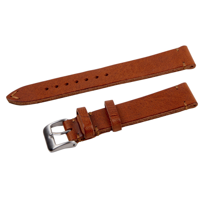 tan vintage leather strap