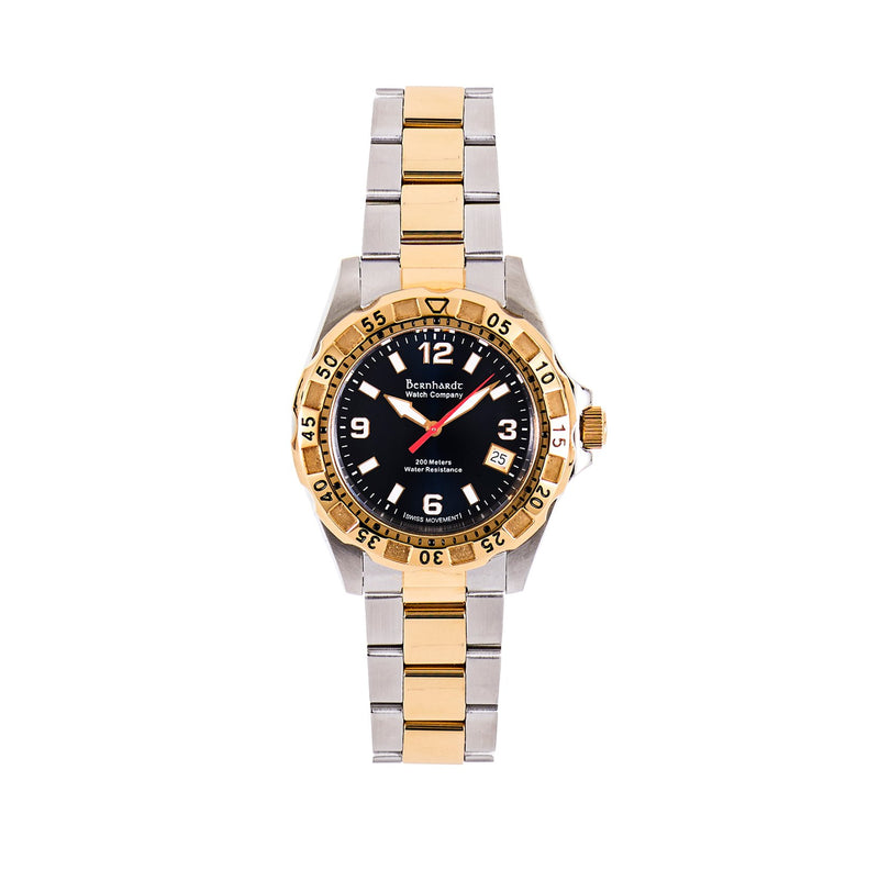 Women's Diver - Black/Gold