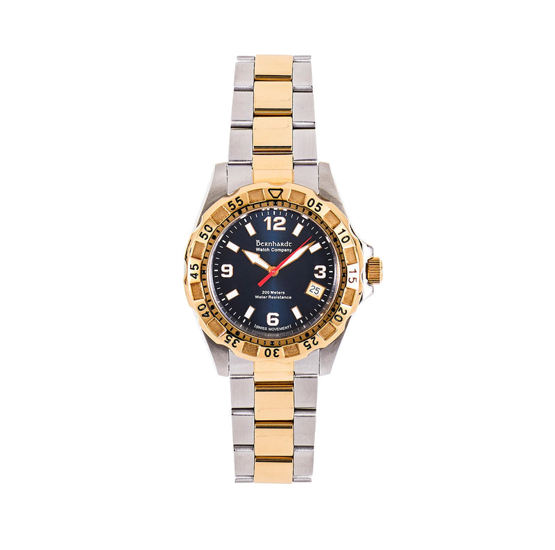 Women's Diver - Blue/Gold