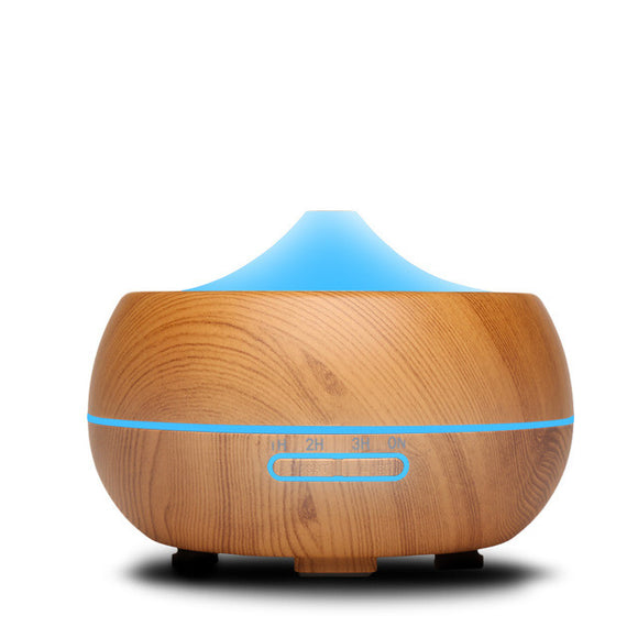 300ml Ultrasonic Humidifier Aroma Essential Oil Diffuser