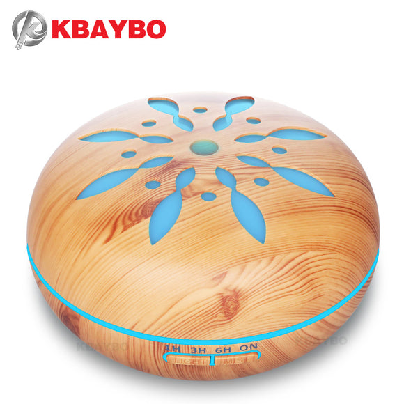 KBAYBO Air Humidifier Essential Oil Diffuser Aroma Lamp Aromatherapy Electric 550ml