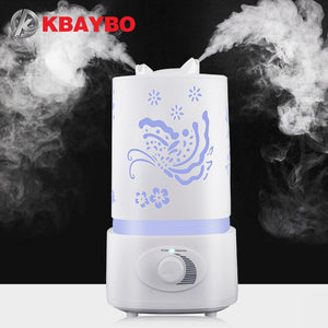 Air Humidifier Aroma Diffuser 7 Color LED With Carve Essential Oil Diffuser