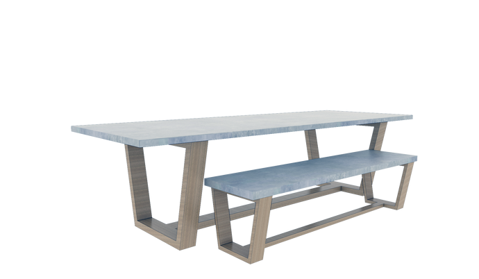 Table & Bench Set 5