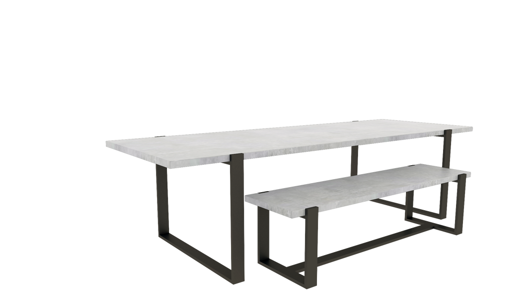 Table & Bench Set 1