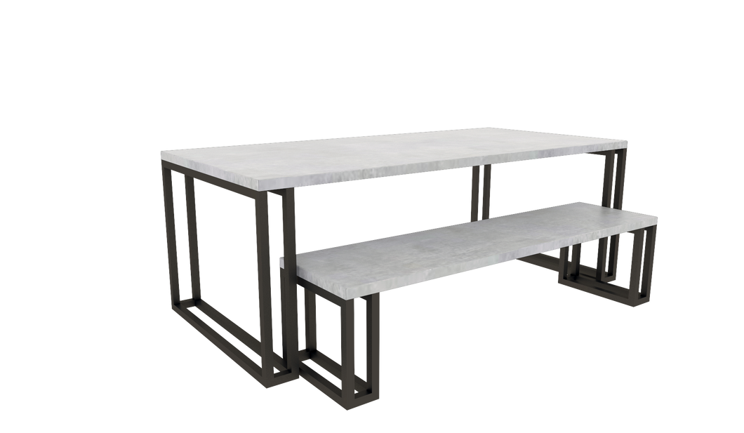 Table & Bench Set 3