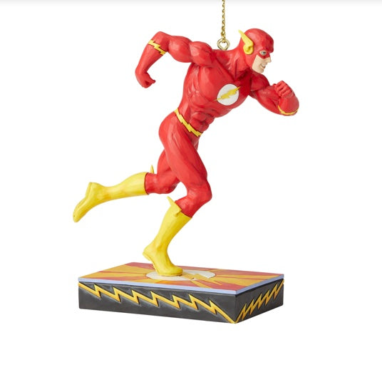 Jim Shore D.C. Comics the Flash Ornament