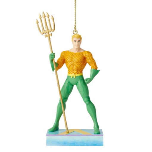 Jim Shore D.C. Comics Aqua Man Ornament