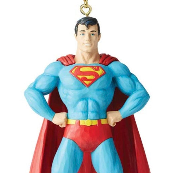 Jim Shore D.C. Comics Superman Ornament