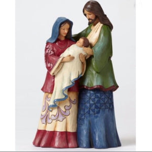 Jim Shore Holy Family Mini Nativity