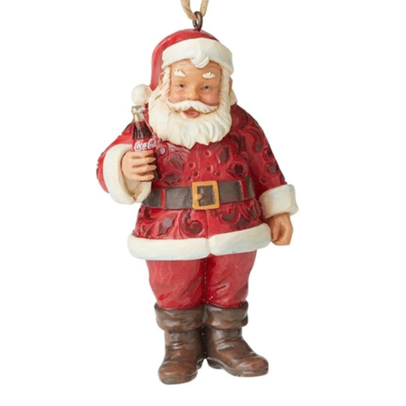 Jim Shore Coca-Cola Santa Ornament