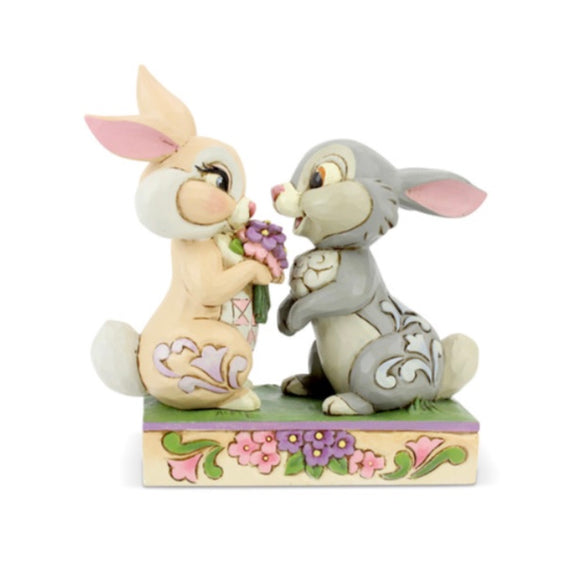Jim Shore Disney Thumper and Blossom Bunnies
