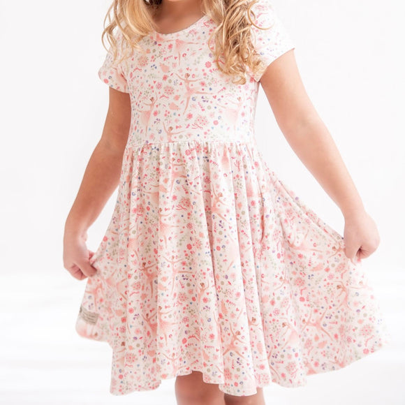 Floral Ballerina Twirly Dress