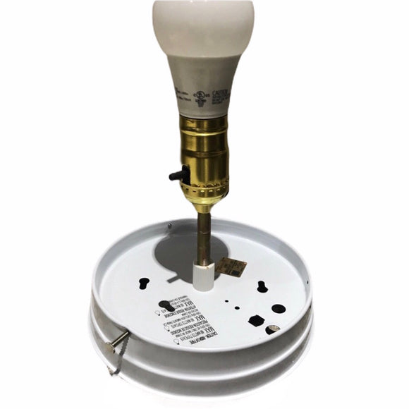 Gas Pump Globe Light Kit