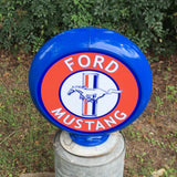 Ford Mustang Reproduction Poly Plastic Gas Pump Globe
