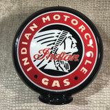 Indian Motorcycle Gas Reproduction Gas Pump Globe