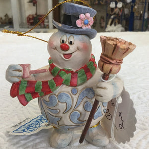 Jim Shore Frosty the Snowman ornament
