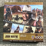 "MasterPieces ""John Wayne Legend of the Silver Screen"" 1000 Piece Puzzle"