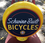 Schwinn-Built Bicycles Reproduction Poly Plastic Gas Pump Globe