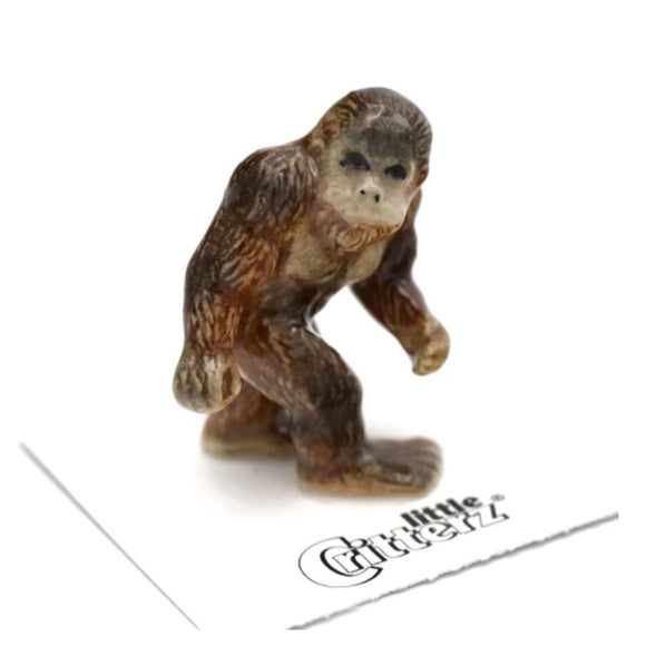 Little Critterz Bigfoot Sasquatch Miniature Porcelain Figure